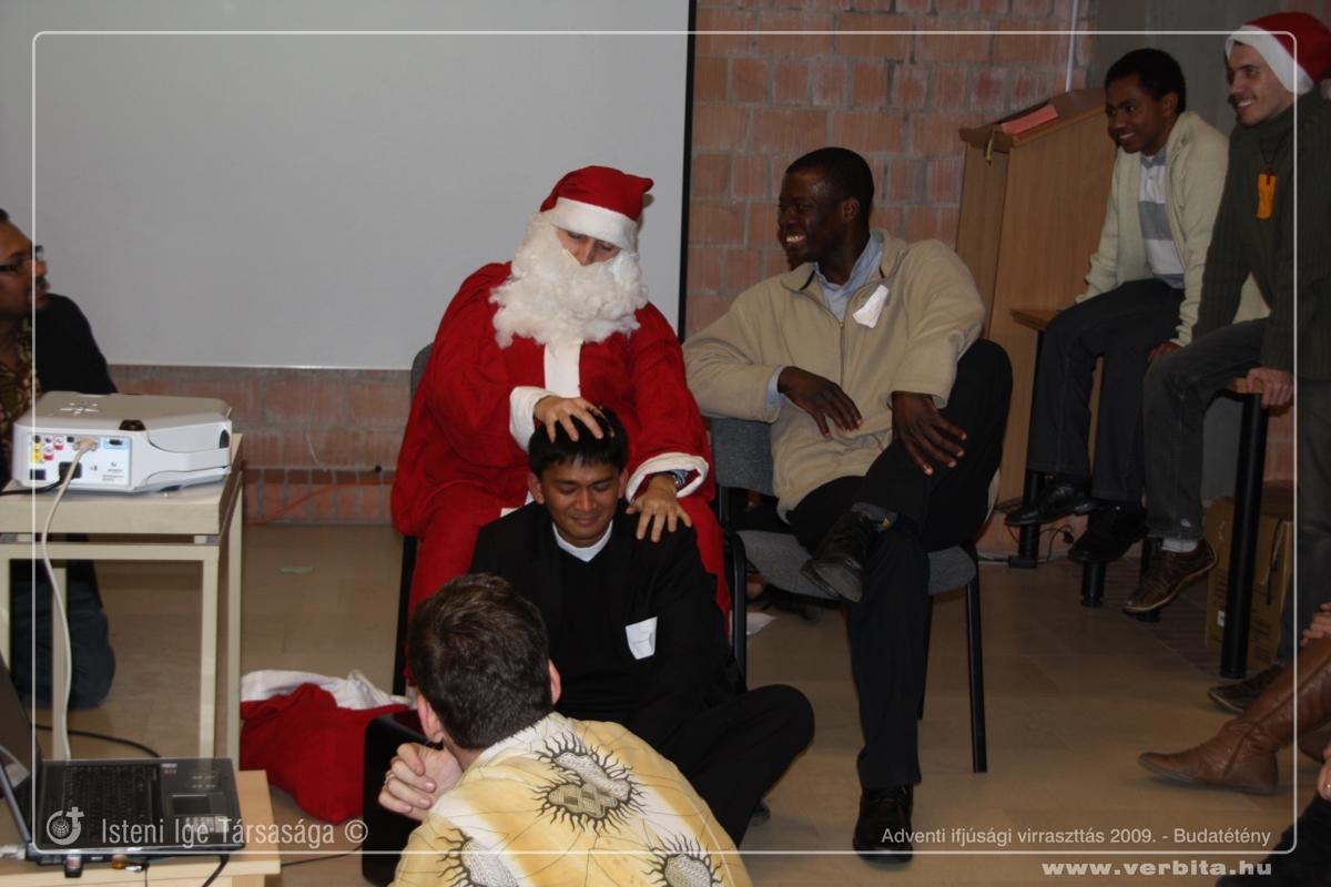 Adventi ifjúsági virrasztás 2009. december - Budatétény