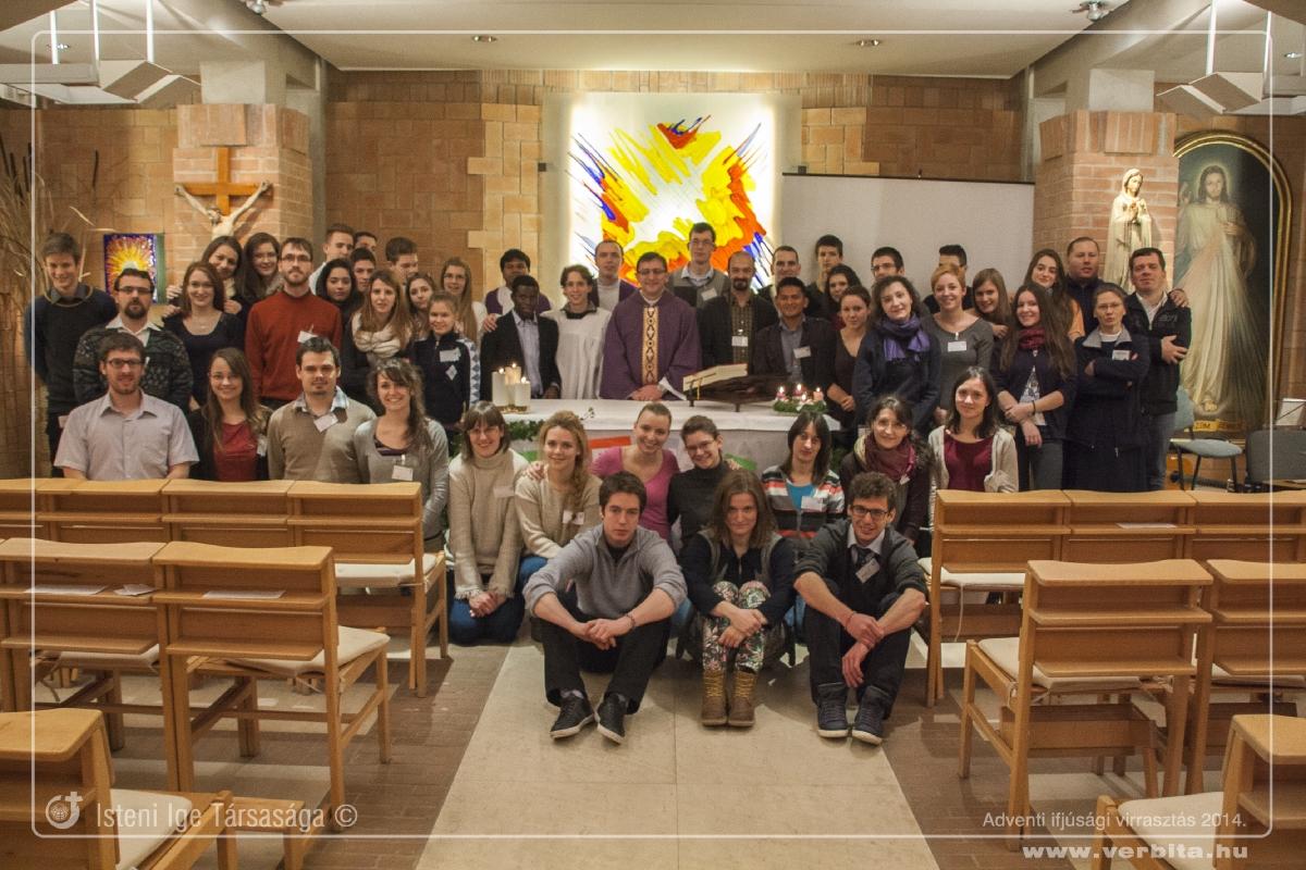 Adventi ifjúsági virrasztás - 2014. december