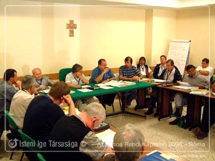 Általános Rendi Káptalan 2006. - Róma