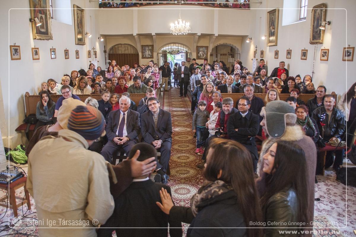 Boldog Ceferino ünnepe 2015. május - Girincs