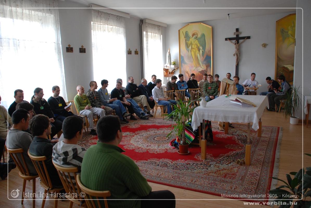 Missziós lelkigyakorlat 2008. február - Kõszeg
