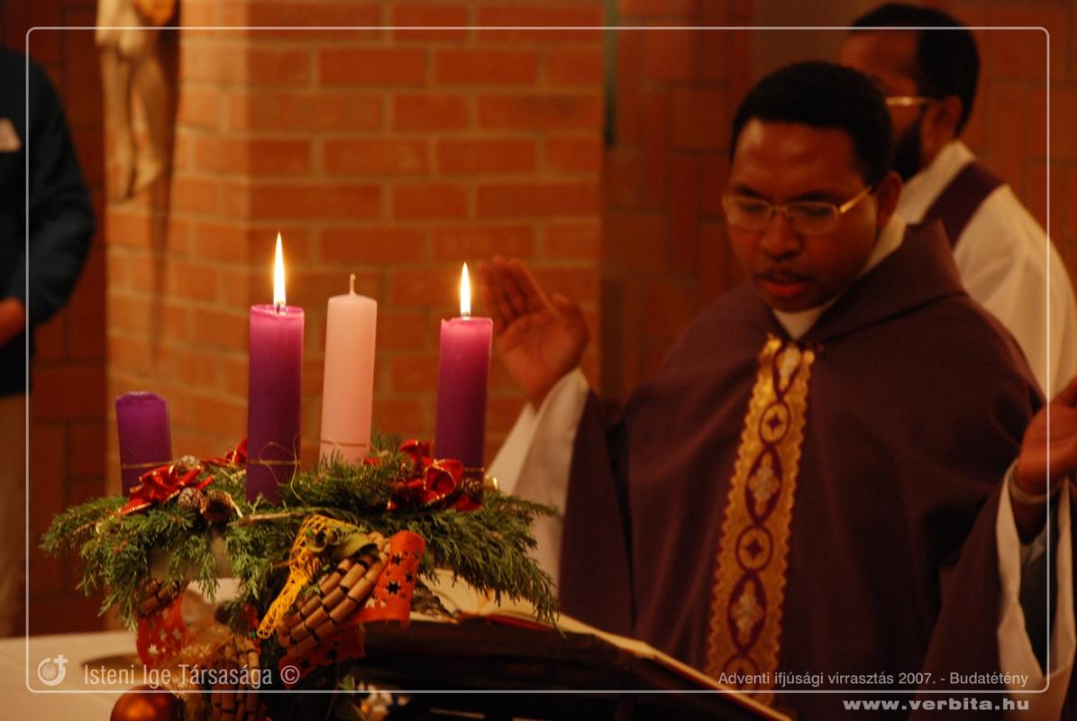 Adventi ifjúsági virrasztás 2007. december - Budatétény
