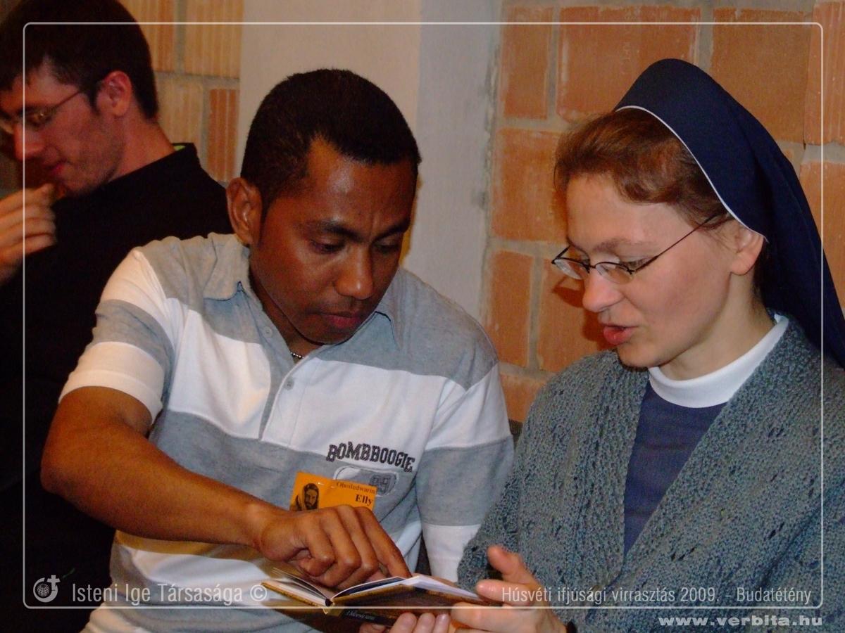 Húsvéti ifjúsági virrasztás 2009. - Budatétény