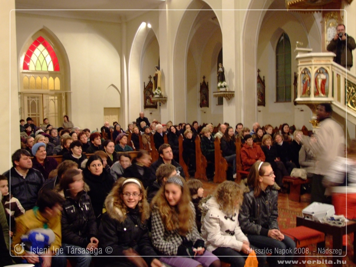 Missziós Napok 2008. november - Nádszeg