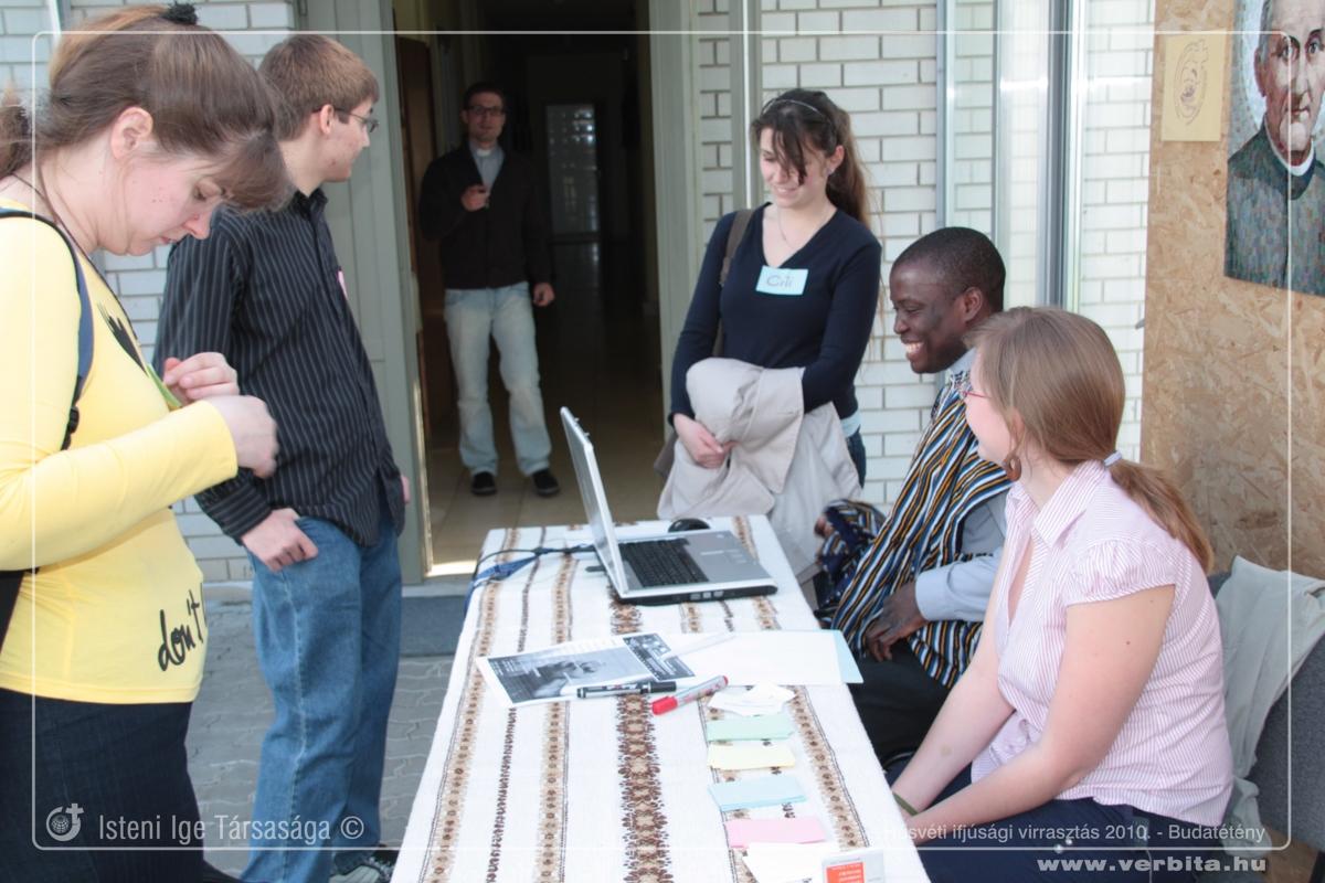 Húsvéti ifjúsági virrasztás 2010. április - Budatétény