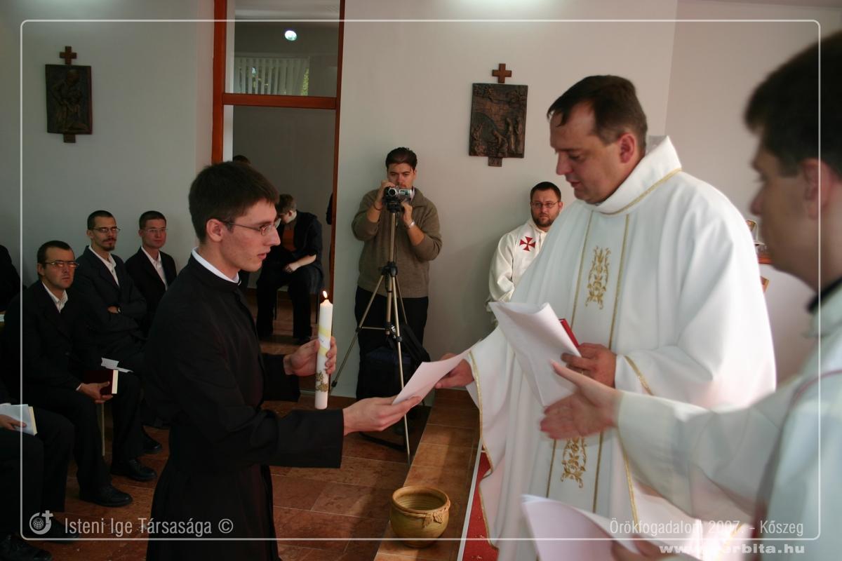 Örökfogadalom 2007. szeptember - Kõszeg