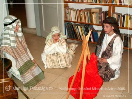 Karácsony a Názáret Missziósházban 2005.