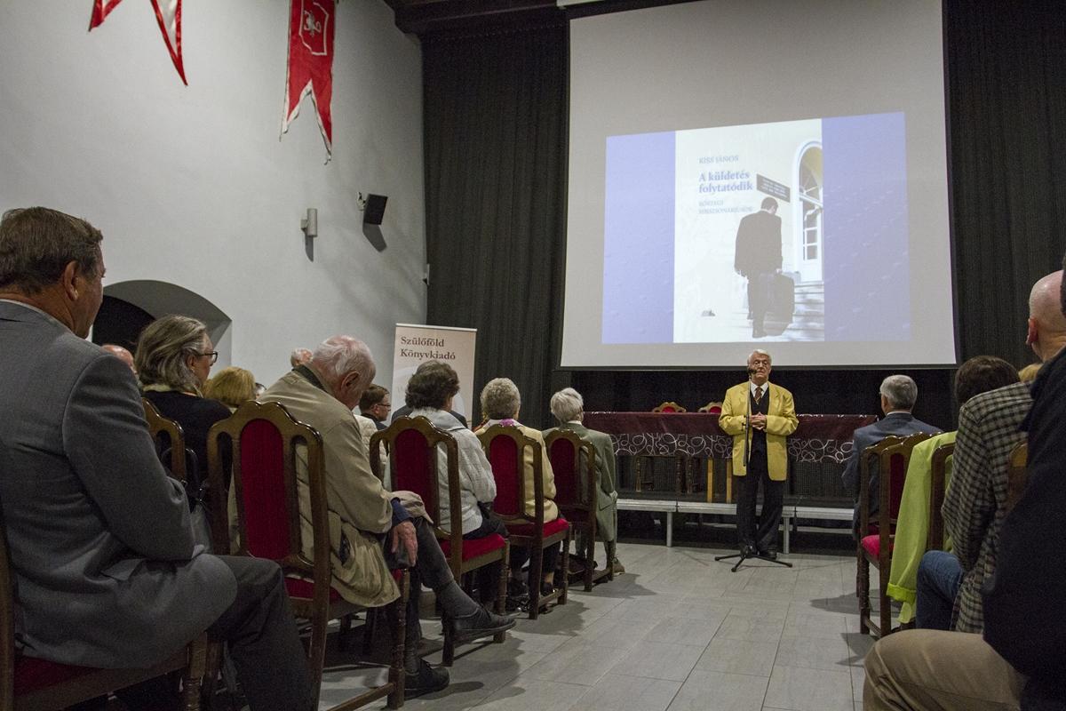 A küldetés folytatódik címû interjúkötet bemutatója Kõszegen