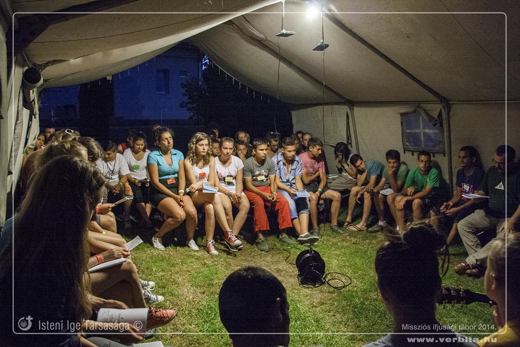 Missziós Ifjúsági Tábor - 2014. július
