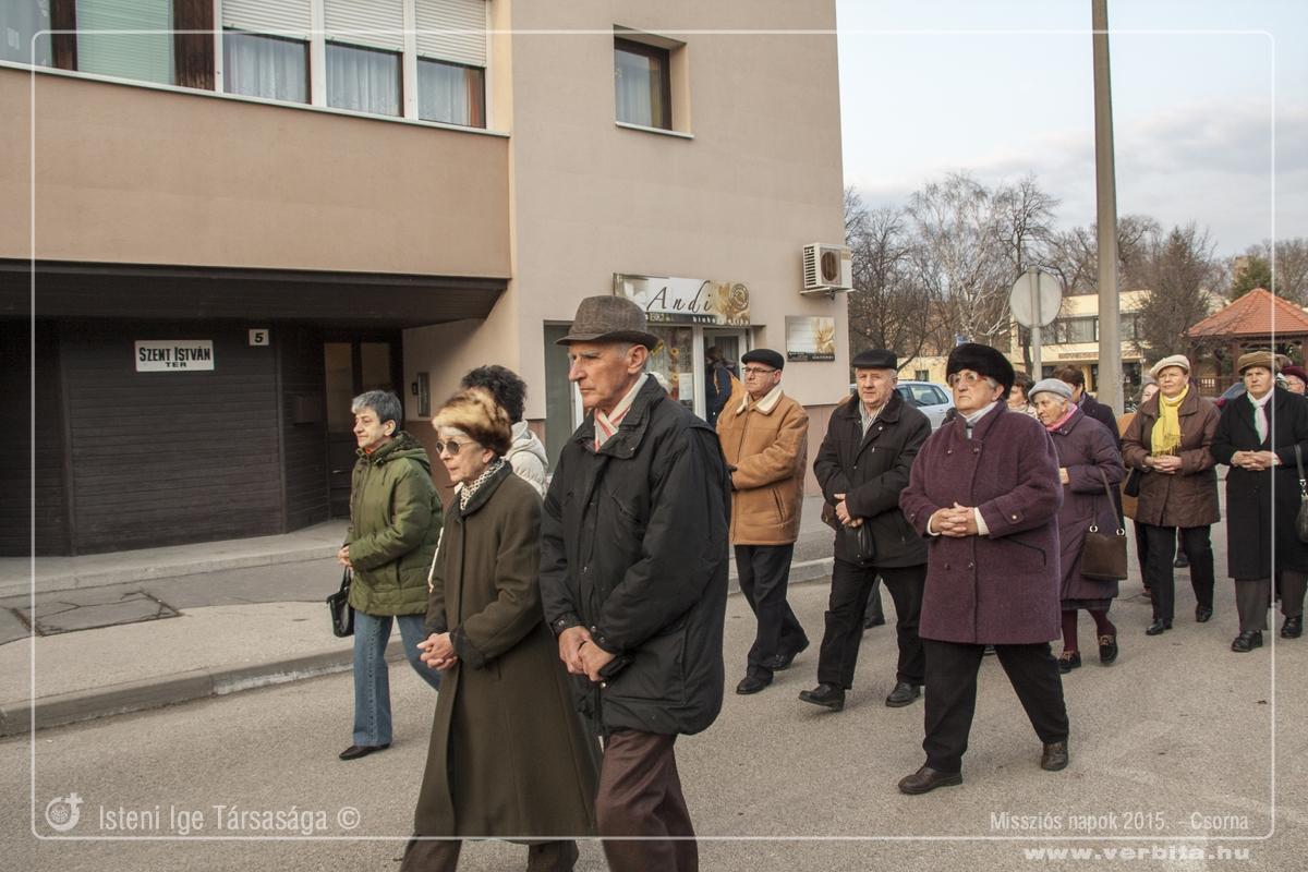 Missziós napok 2015. március - Csorna