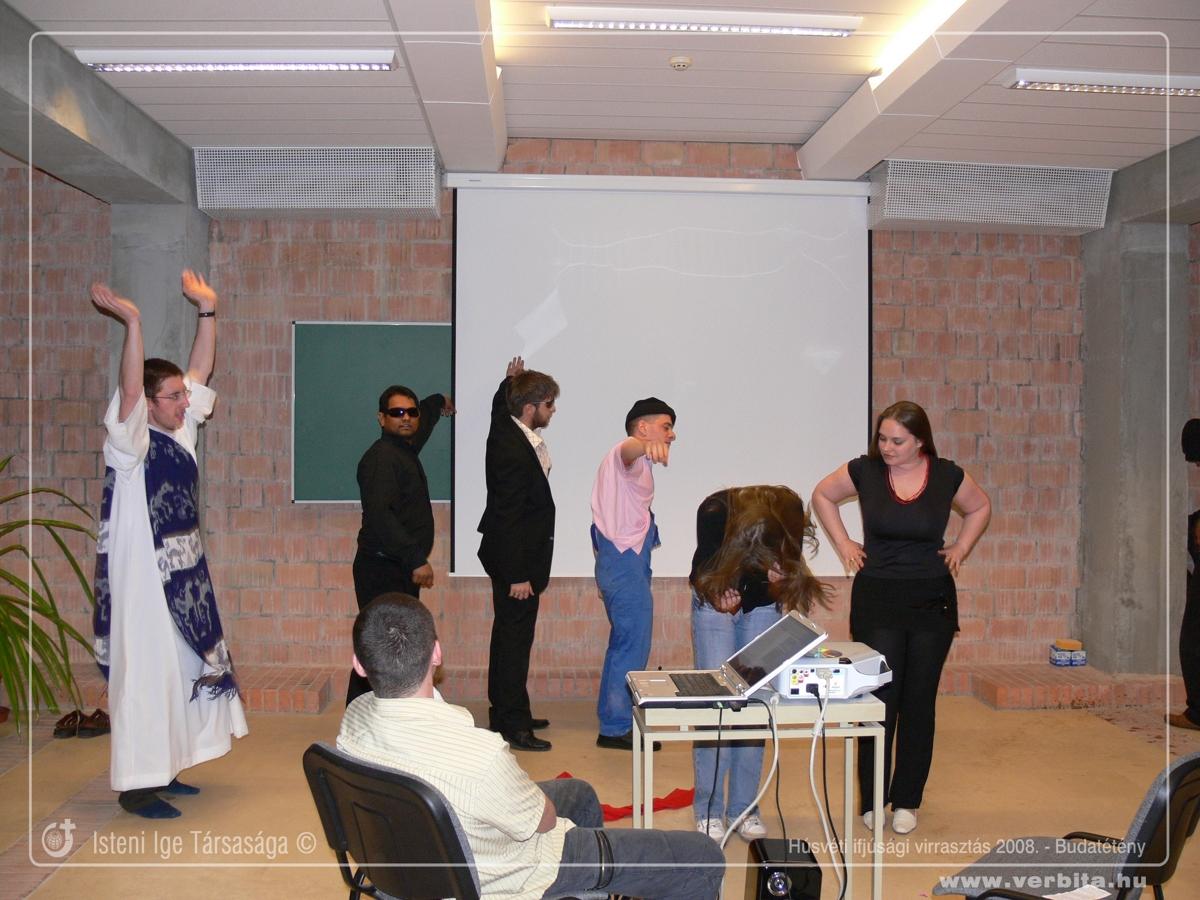 Húsvéti ifjúsági virrasztás 2008. április - Budatétény