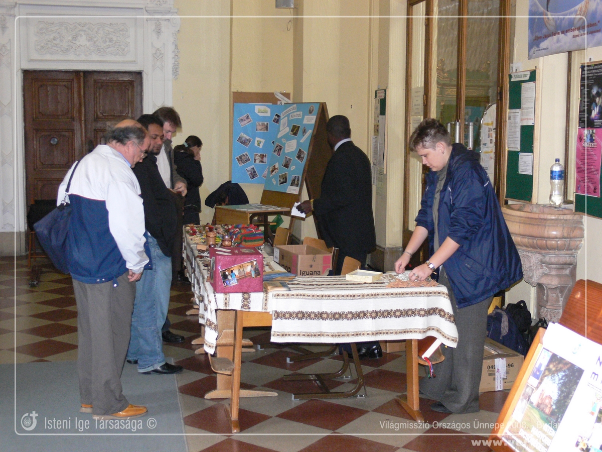 Világmisszió Országos Ünnepe 2008. október - Budapest