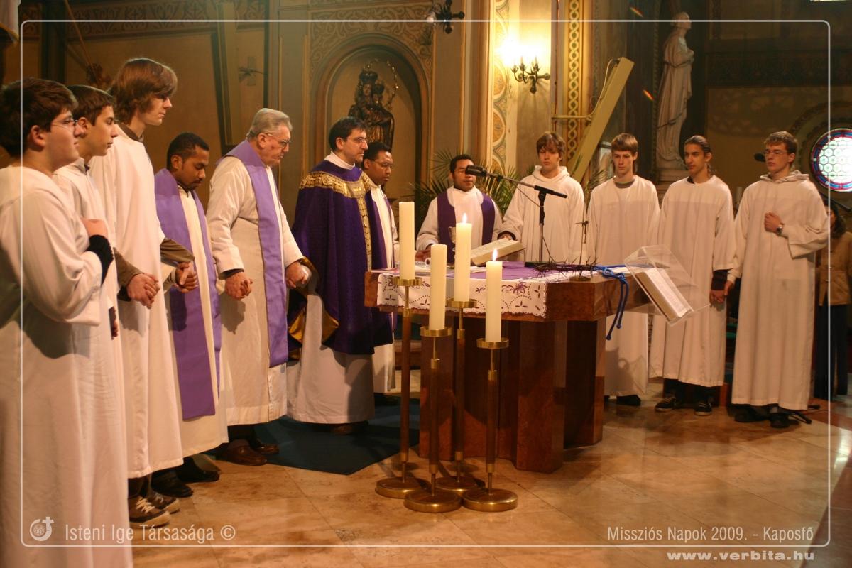 Missziós Napok 2009. március - Kaposfõ