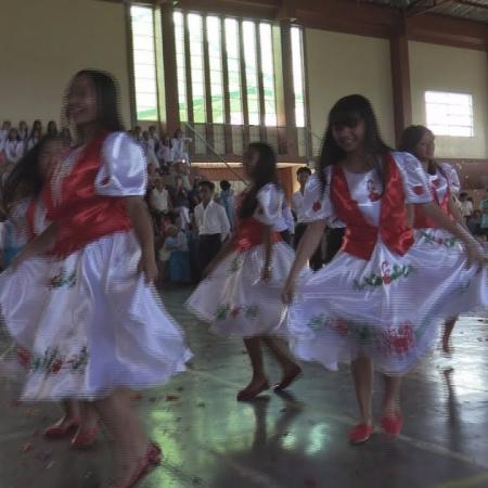 Hungarian dances by studens of Good Shepherd Academy