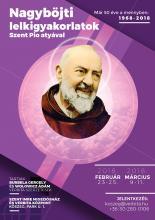 Nagyböjti lelkigyakorlatok Szent Pio atyával