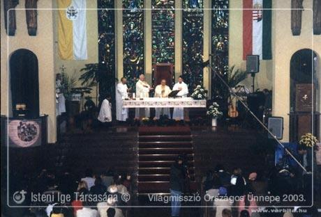 A világmisszió ünnepe 2003 - Budapest Városmajor