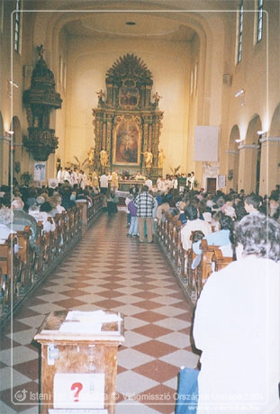 A Vil�gmisszi� Orsz�gos �nnepe 2004.