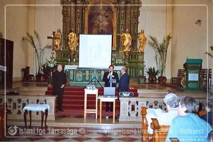 Világmisszió Országos Ünnepe 2005. - Budapest
