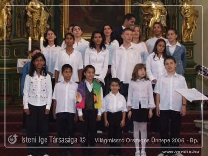 Világmisszió Országos Ünnepe 2006. - Budapest