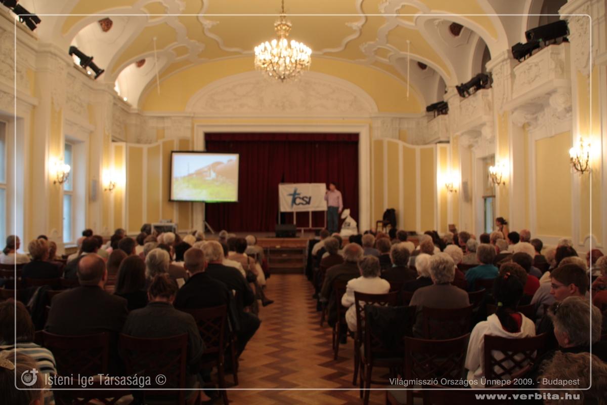 Világmisszió Országos Ünnepe 2009. - Budapest