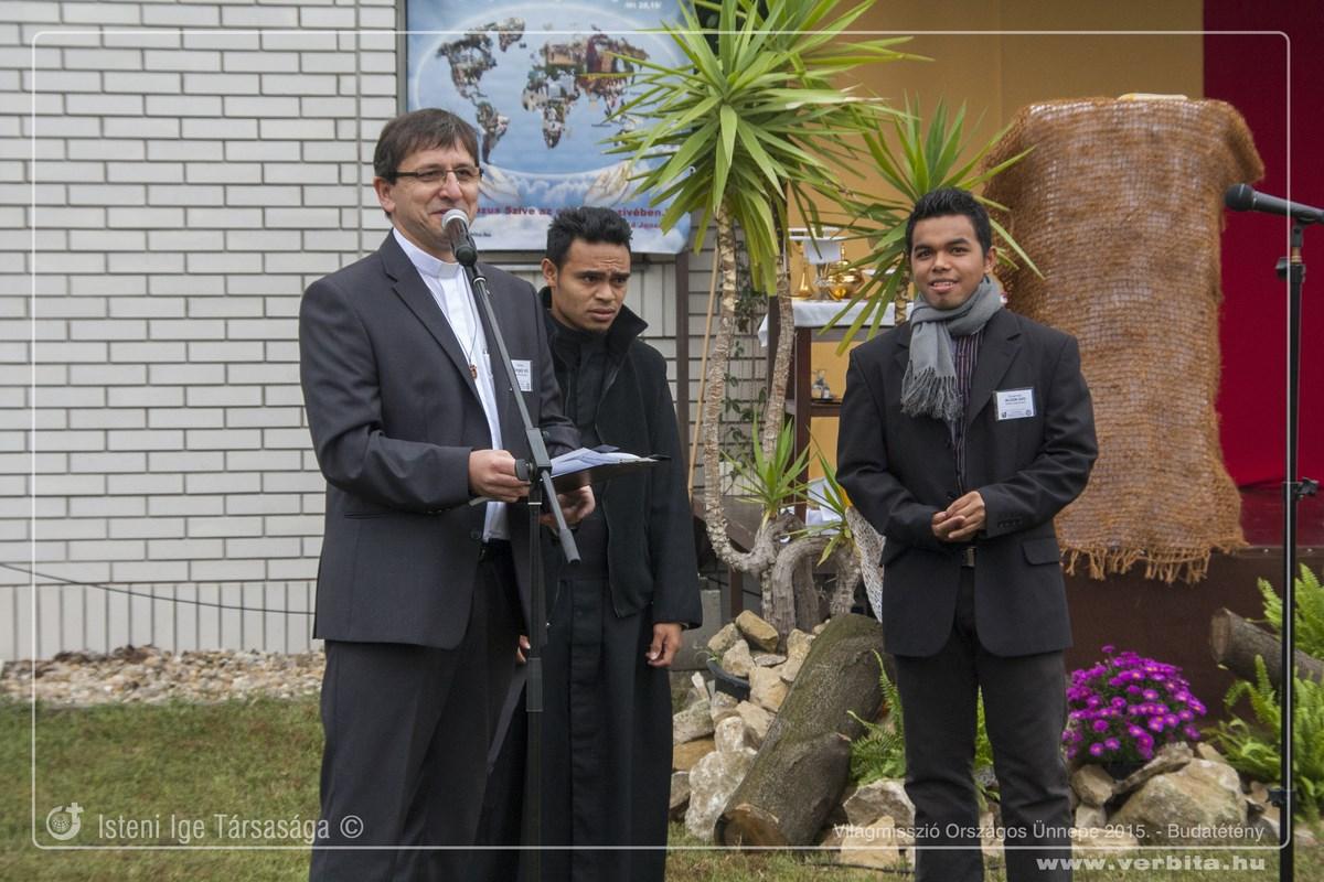 Világmisszió Országos Ünnepe - 2015. október